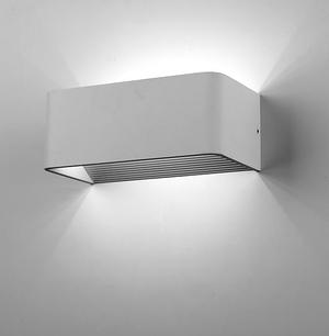 Modern minimalist lighting spacecraft led wall sconce light cosmos a2 aloadofball Choice Image