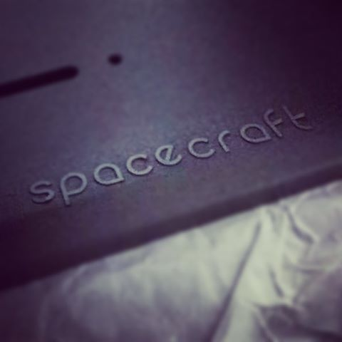 Our LED wall mounted sconce lights are now have our logo! #spacecraft #branding #logo #design #lighting #interiordesign #font