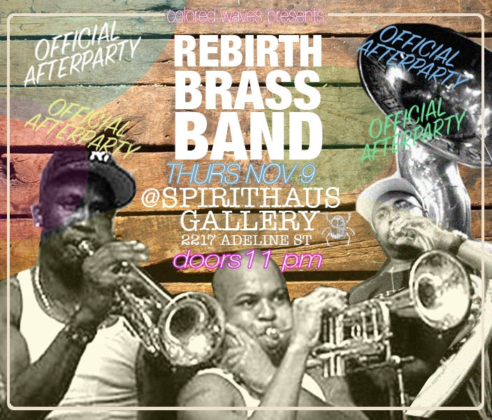 Special Guests Rebirth Brass Band (New Orleans)