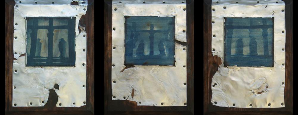 los crucificados (triptych)