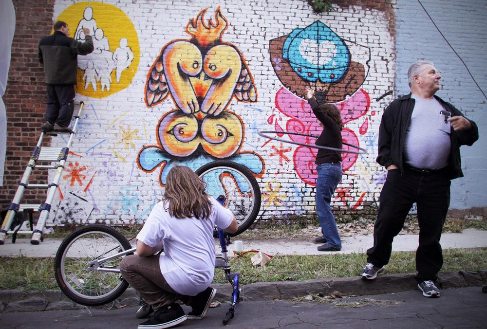 Festival Street Scene