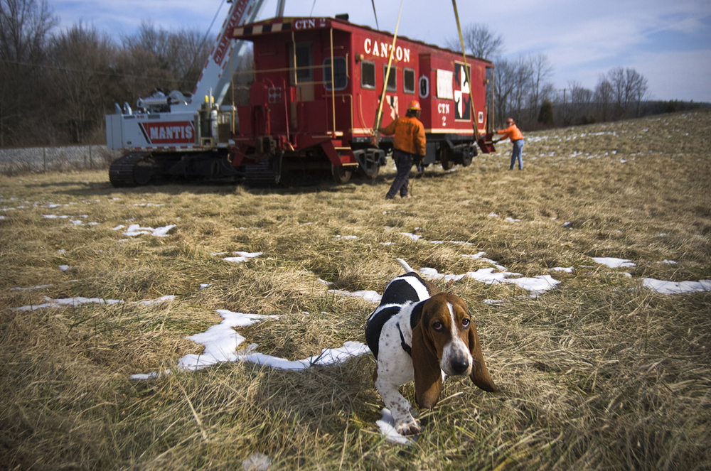 The Basset Hound & the Caboose
