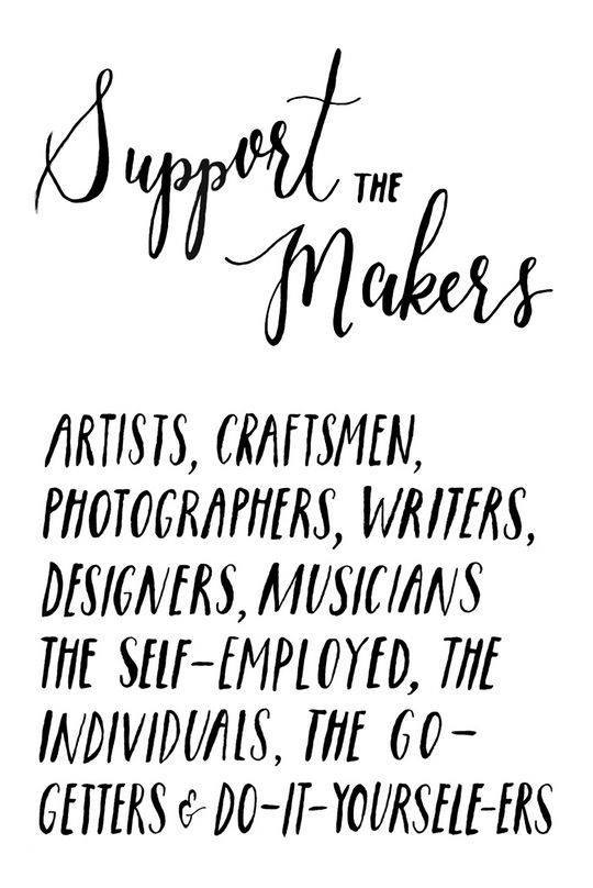 Support the makers - The Other Right