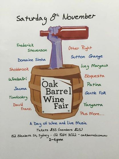 OakBarrelWineFair2014