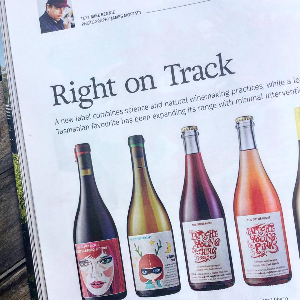 The Other Right Wines - Gourmet Traveller Wine APR/MAY 2016