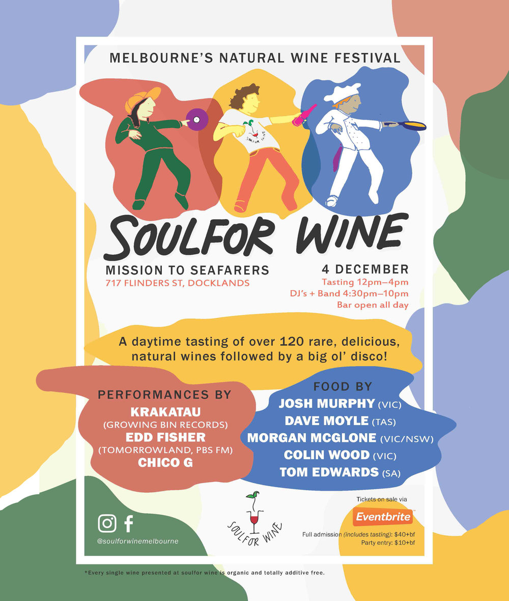 Soulfor Wine Melbourne 2016