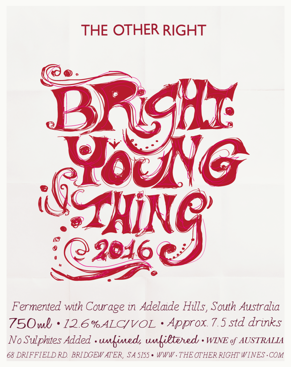 The Other Right Wines - BRIGHT YOUNG THING 2016
