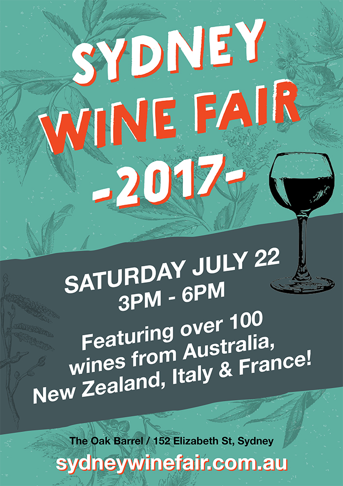 Oak Barrel Sydney Wine Fair 2017
