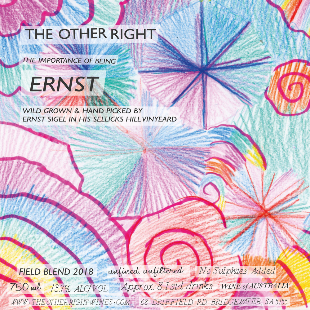 The Other Right Wines - Ernst 2o18
