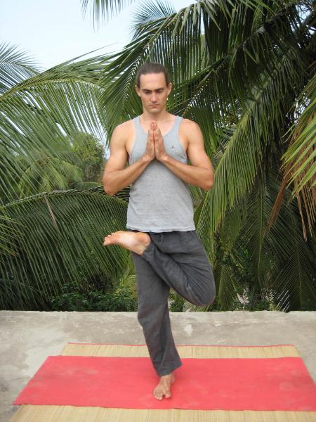 Upa Ardha P  ādmāsana   (Standing Half Lotus)