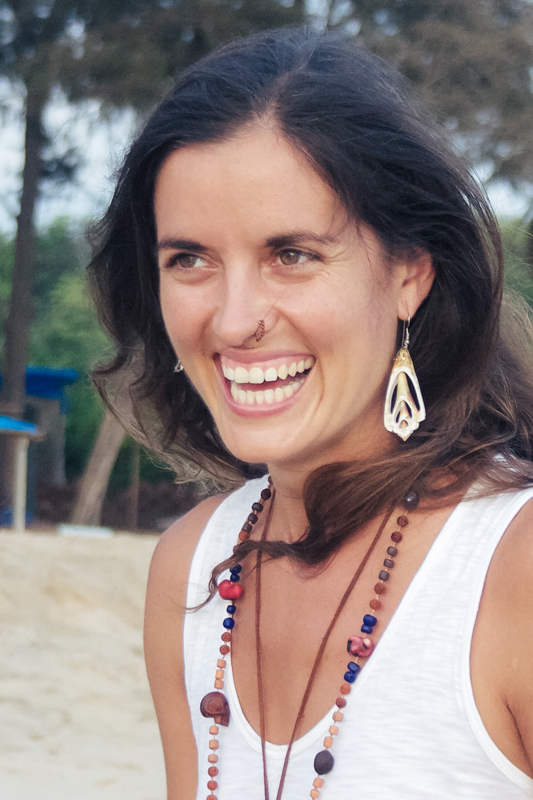 Nicki currently lives, practices, studies, and helps with the community amongst Shri Kali Ashram with her dog, Gaea. She also travels around the world sharing the Kaula Tantra Yoga System through workshops and retreats.