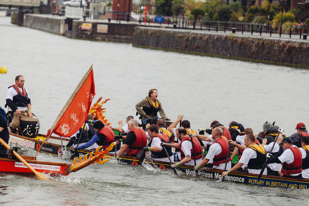 Dragon Boat Racing with Taxi Studio