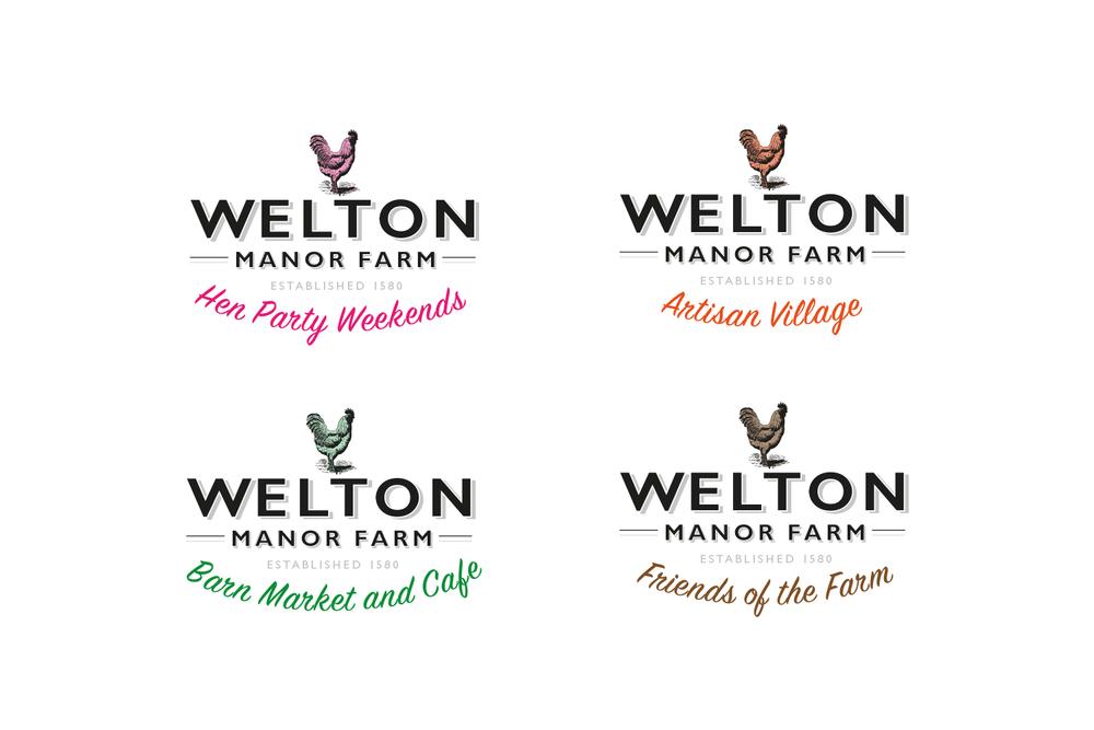 Welton Manor Farm Branding