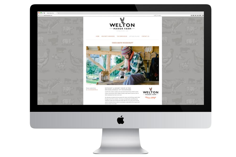 Welton Manor Farm Website Design