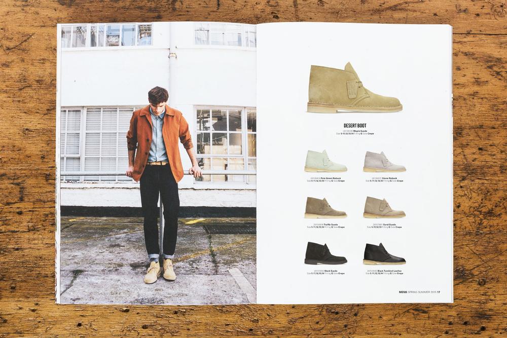 Clarks Originals SS15 Catalogue