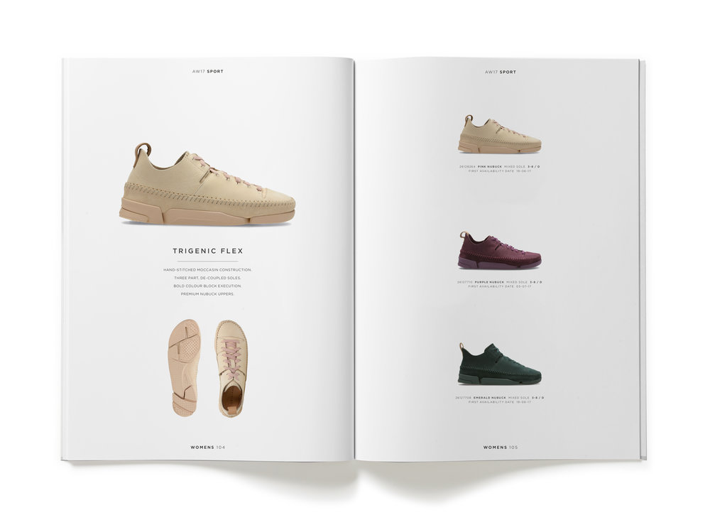 Clarks AW17 Originals Trade Catalogue