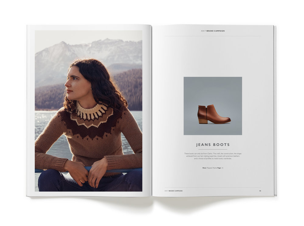 Clarks AW17 Womens Trade Catalogue