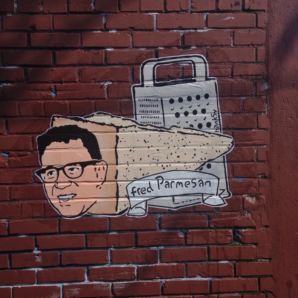 Fred Parmesan, 2014, Portland, OR