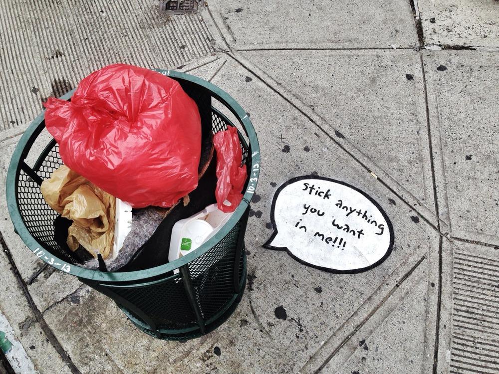Trashy, NYC