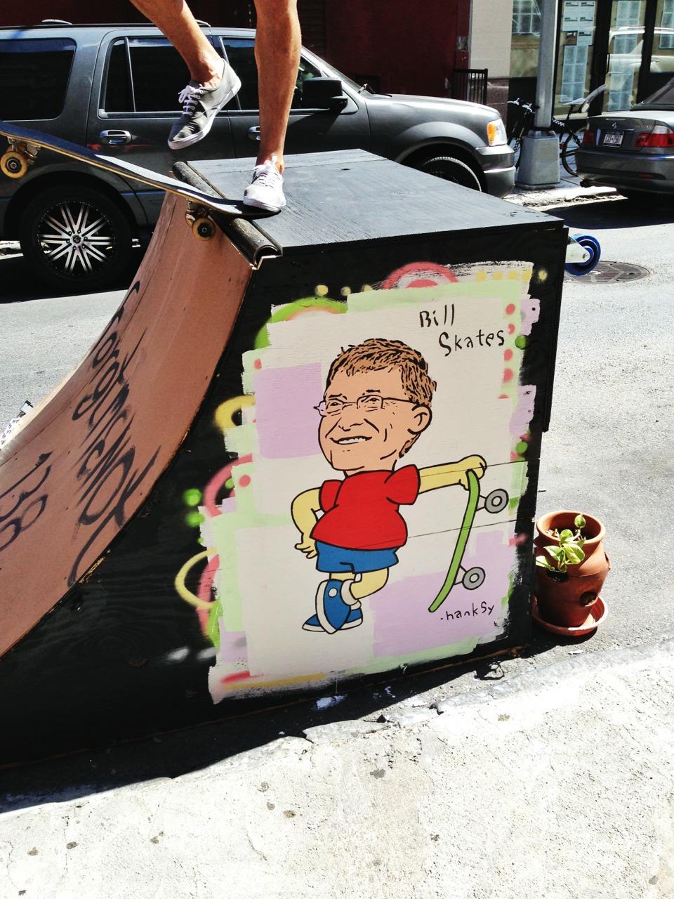 Bill Skates, Chinatown, NYC