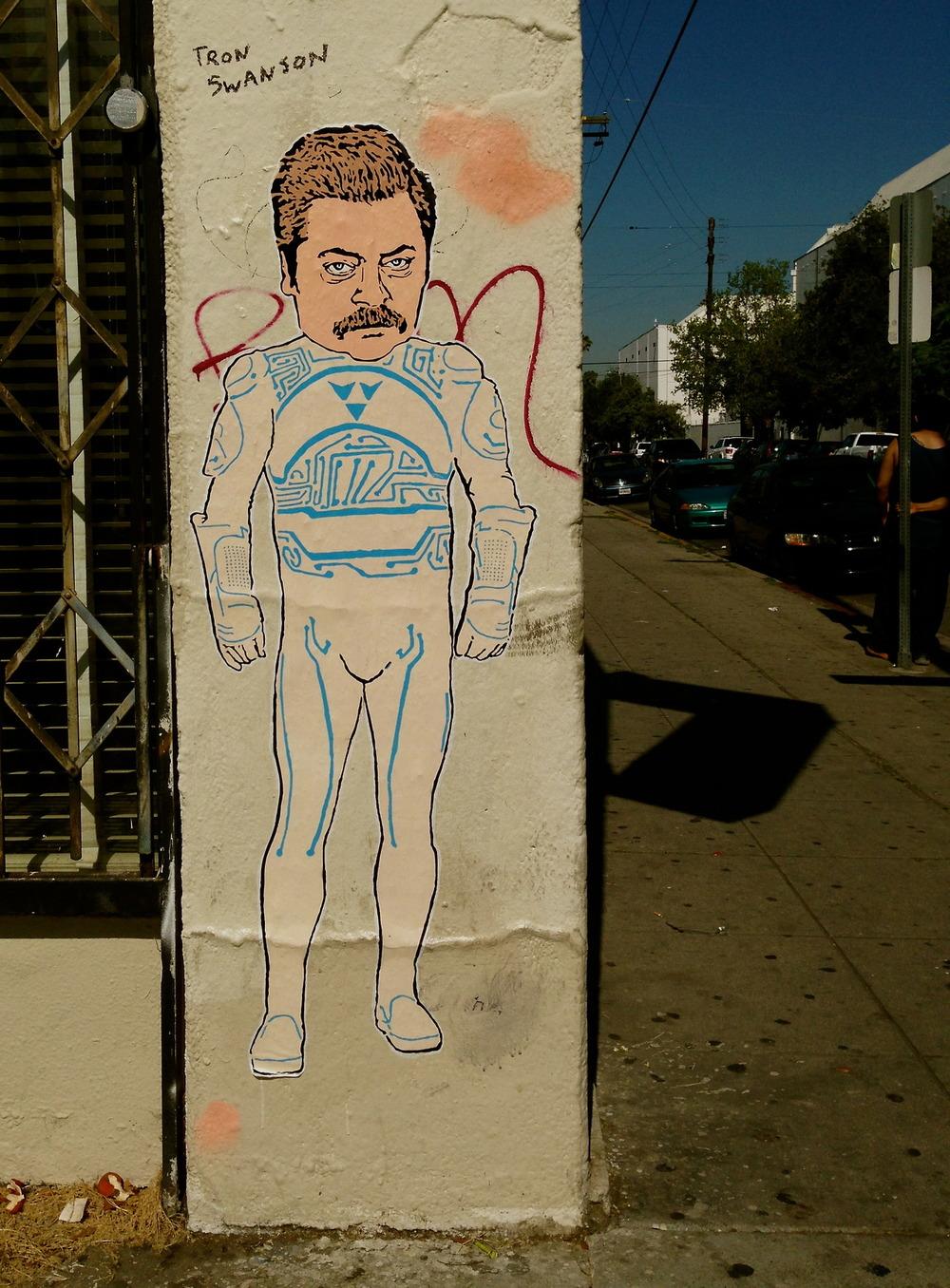 Tron Swanson, Los Angeles, CA