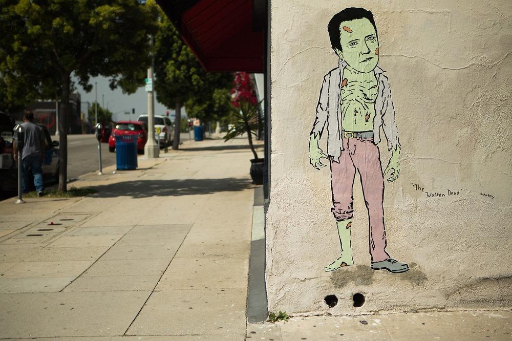The Walken Dead, Pico and Spaulding, Los Angeles.