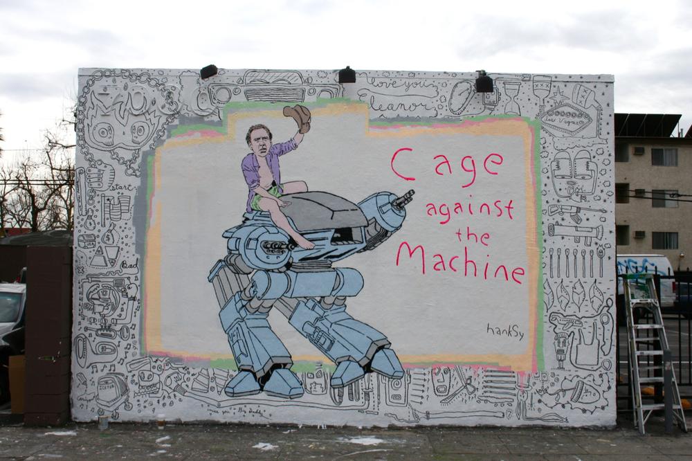 Cage Against The Machine, Melrose/La Brea, LA