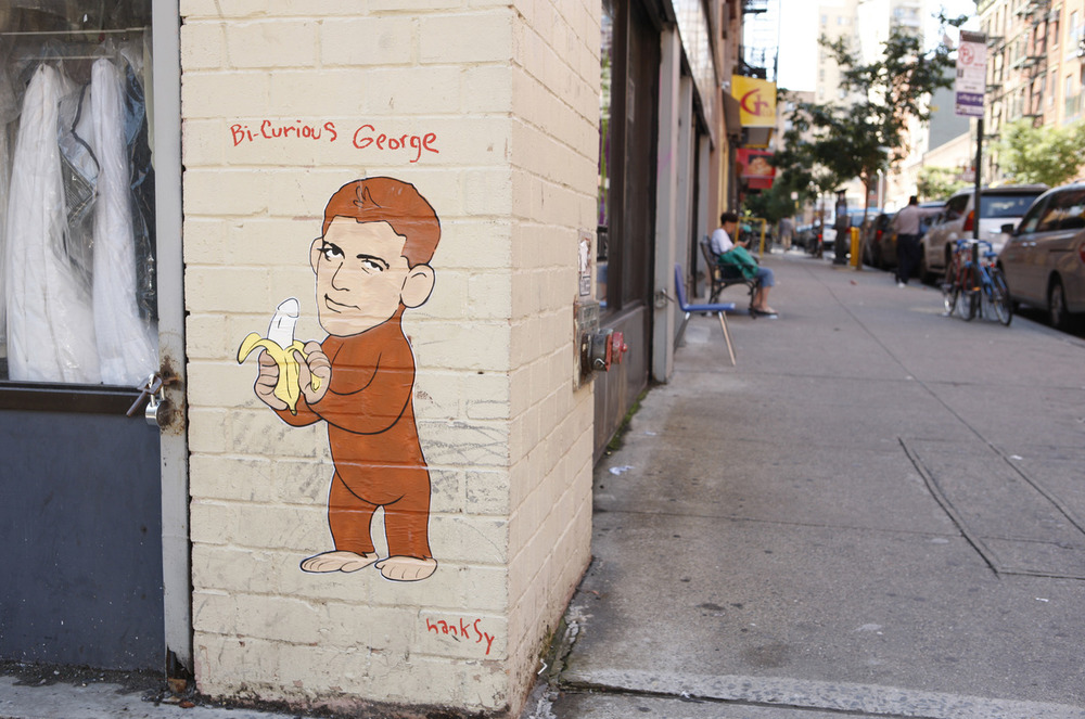 Bi-Curious George Clooney, Ludlow & Hester, NYC