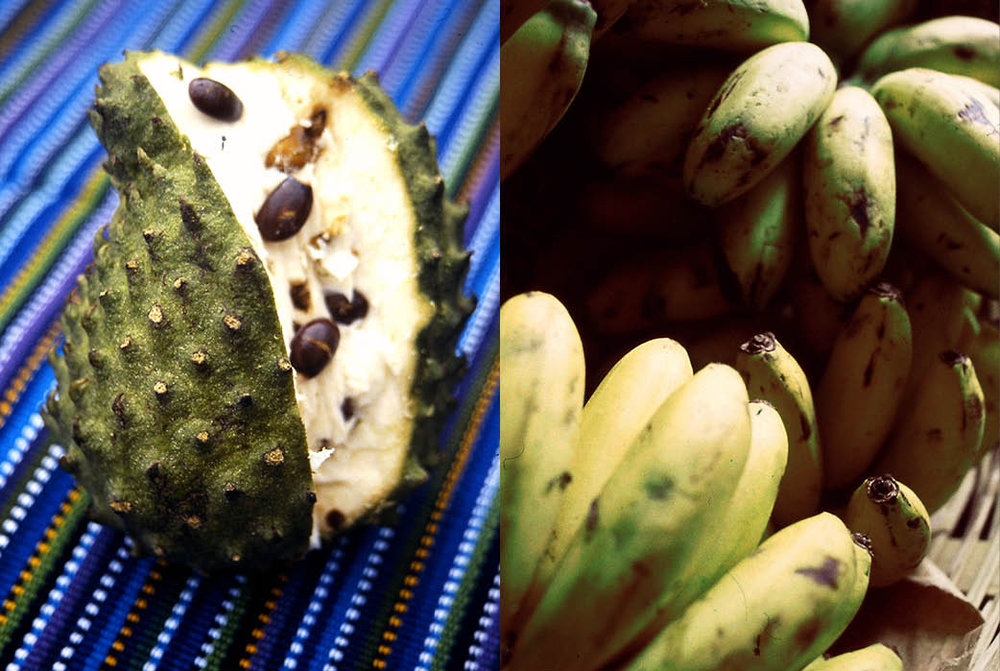 Chirimoya (or Cherimoya) and Plantains