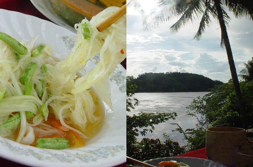 Papaya Salad:Tam Mak Hoong
