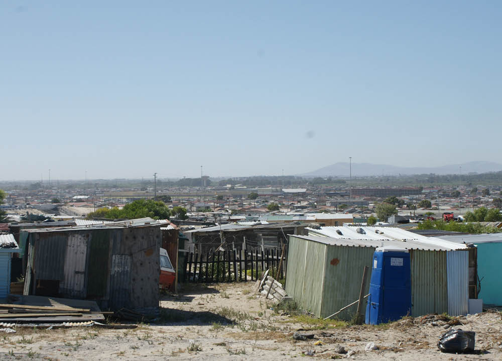 Cape Flats in Khayelisha, Cape Town