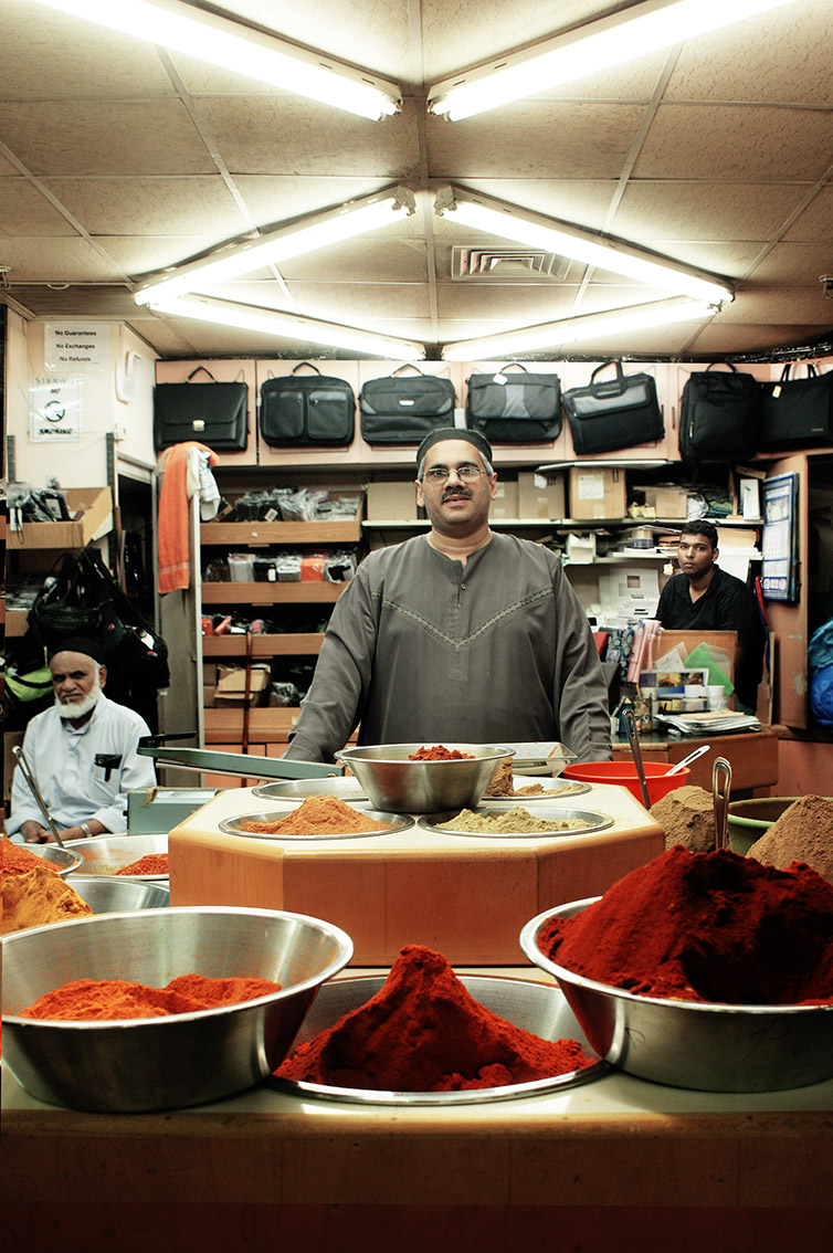 """I have curry in my veins"", says Goolam Habib Madaris who runs a spice shop in the Victoria Street Market in Durban, South Africa. This Market is unique in South Africa. Barrels of Indian spices and incense infuse the air. A visit is essential for those who want to experience Durban's relaxed Afro-Oriental atmosphere. The city of Durban is home to the largest population of Indians descents outside Asia."
