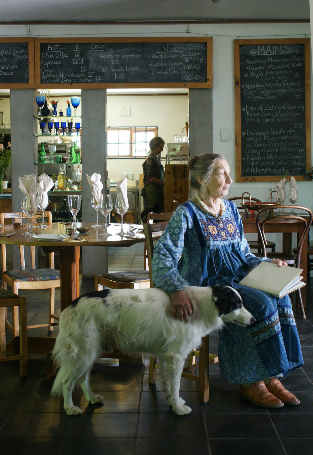 The Grand Dame of South African cuisine. Tops Venter, Cape Winelands. Read the post I wrote about her  here > .
