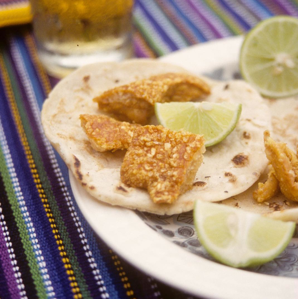 Tortilla con Chicharrones | Guatemala > Real Men are made of Corn
