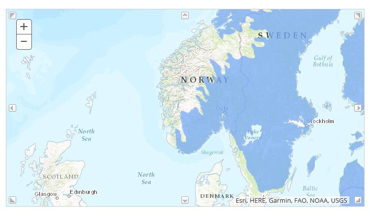 Natürliche Ausbreitung von  Picea abies  (EUFORGEN)