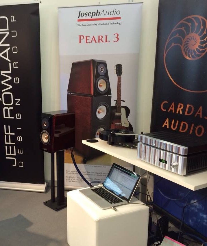 The booth at High End 2014.