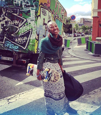 Shamira Muhammad (creator/writer) is an alumni of Howard University and the graduate school of New York University. Her first time getting abandoned abroad was after a bathroom break at the Great Pyramids of Giza. Photo by Aja Monet