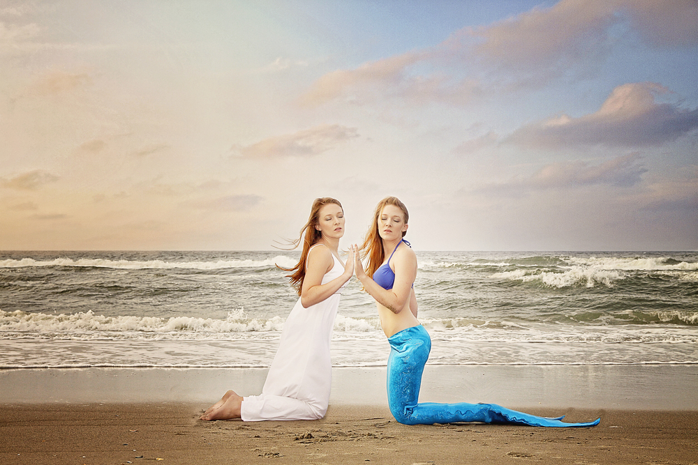 Mermaid and Human Twin