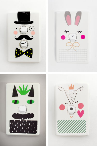 Decorating Inspiration 101 | How to dress up your light switch