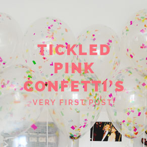 Tickled Pink Confetti's First Post!