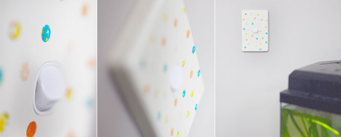 DIY Washi Tape Light Switch Decal Tutorial | Decor Idea | Craft Project | Home and Garden