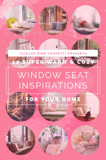12 Super Warm & Cozy Window Seats Inspirations for Your Home
