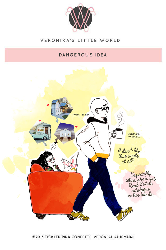 How to be Blissfully Content in Your New Home | Dangerous Idea - A Comic Strip