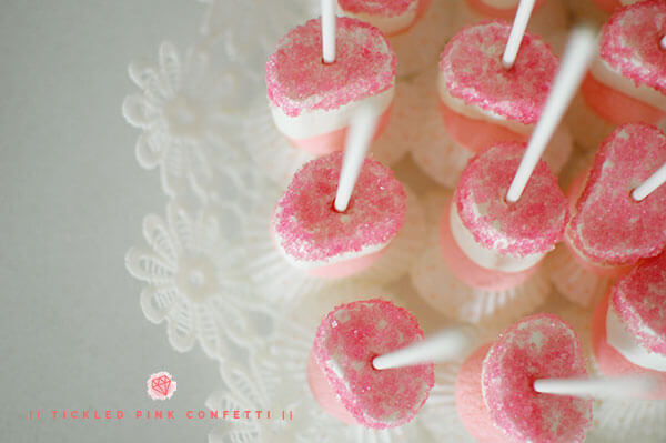Yummy and Scrumptious Marshmallow Ballerina Pops | Ballerina Themed Birthday Party Series