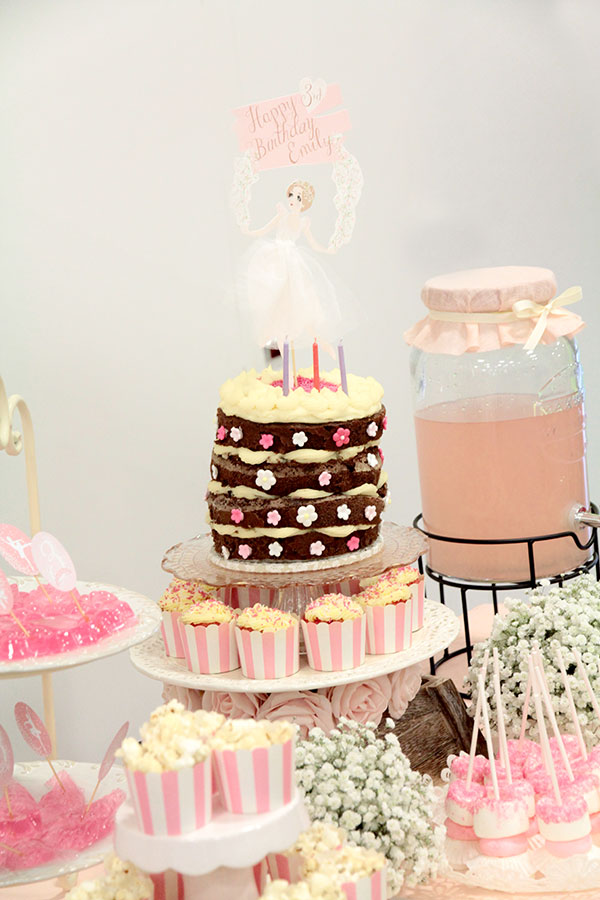 How to Create An Elegant Ballerina Birthday Party | Cake