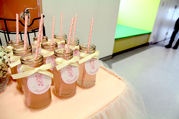 How to Create An Elegant Ballerina Birthday Party | Milk Bottles