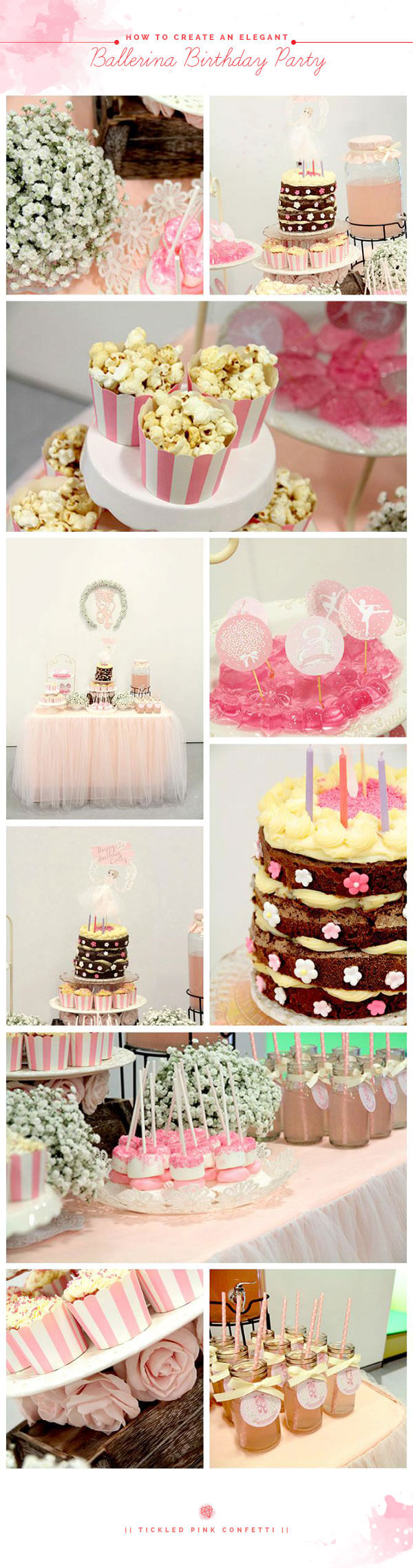 How to Create an Elegant Ballerina Birthday Party