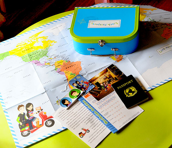 Little Passports Review | Activities for Your Little World Explorer