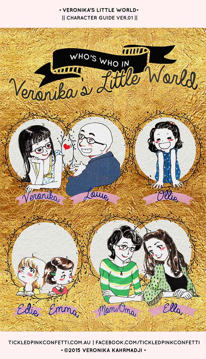 Who's Who in Veronika's Little World? | Character Guide | Veronika's Little World | Webcomic