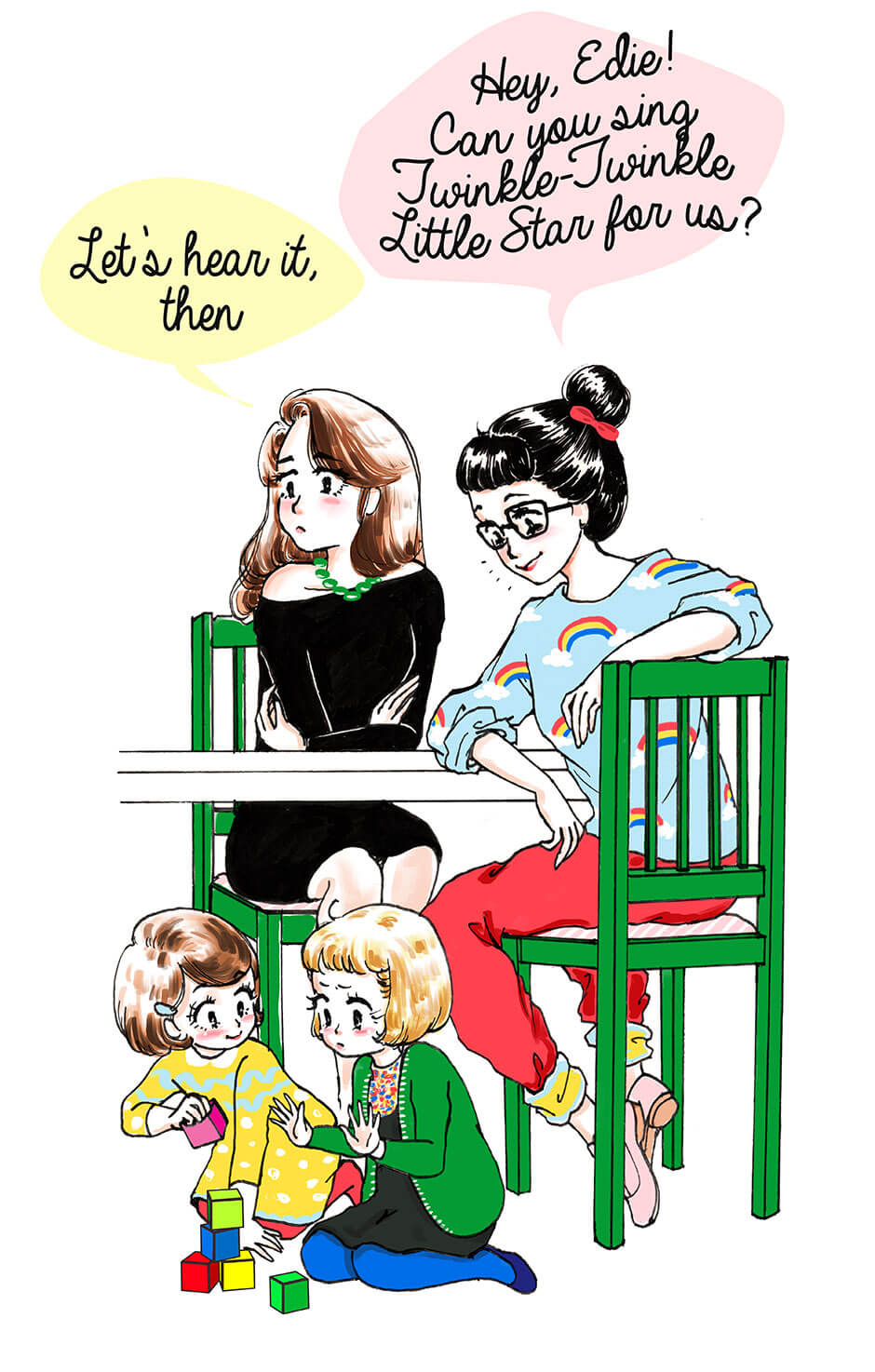 How to Pick Your Fights Wisely with Your Toddler - Request Fail || Veronika's Little World by Tickled Pink Confetti || Parenting Adventures and Humour || Web Comic part02